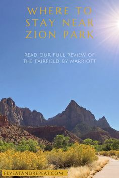 Planning a trip to Zion? Check out our hotel review to help plan your trip