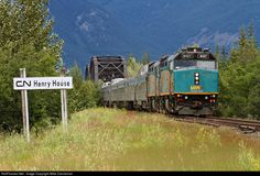 RailPictures.Net Photo: VIA 6427 VIA Rail EMD F40PH-3 at Henry House, Alberta, Canada by Mike Danneman