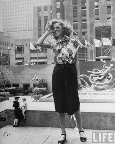 NewYork vintage fashion 1940s 3