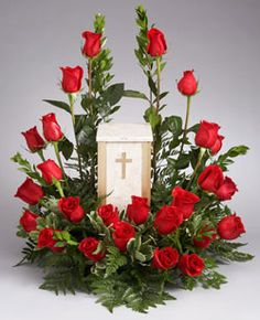 cremation floral arrangements - Google Search