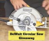 DeWalt DWE575SB Circular Saw Giveaway  Open to: United States Ending on: 11/20/2017 Enter for a chance to win a DeWalt DWE575SB Circular Saw. Enter this Giveaway at The Saw Guy  Enter the DeWalt DWE575SB Circular Saw Giveaway on Giveaway Promote.