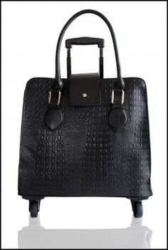 de4b6ac70d9 Jetsetter Womens Laptop Bag with Wheels from GRACESHIP. Designer Trolley Tote  Bag Perfect for Travelers.