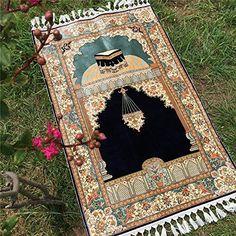 Persian rug, Persian carpet, Handmade rug is supplied by Henan Yilong Carpet Co. Muslim Prayer Mat, Islamic Prayer, Prayer Rug, Islamic Art, Islamic Teachings, Hadith, Islamic Girl Pic, Motifs Islamiques, Muslim Couple Photography