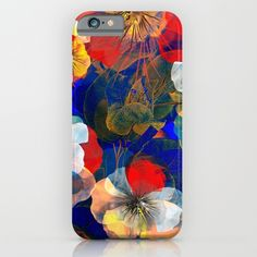 Flower carpet(54). iPhone & iPod Case by Mary Berg. Worldwide shipping available at Society6.com. Just one of millions of high quality products available. #phoncase #society6 #flowers #purple #maryberg #poppy #gold #slimcase #blue #navy #design #contemporary