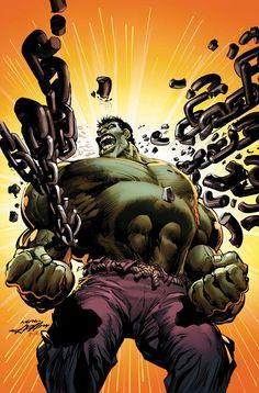 Incredible Hulk by Neal Adams
