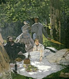 Claude Monet's Luncheon on the Grass (1865-6)