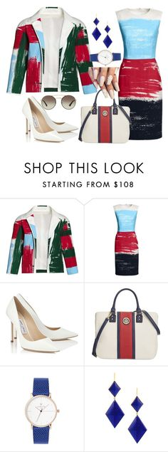 """youare"" by conceitedbrat ❤ liked on Polyvore featuring Canvas by Lands' End, Jimmy Choo, Tommy Hilfiger, Marie Hélène de Taillac, Prada and youaretheartist"