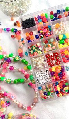 Nail Jewelry, Diy Crafts Jewelry, Funky Jewelry, Trendy Jewelry, Summer Jewelry, Cute Jewelry, Seed Bead Jewelry, Beaded Jewelry, Handmade Jewelry