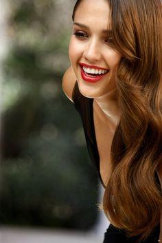Jessica Alba. Beautiful Curls