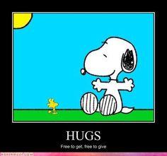 Snoopy You Need a Hug | 2011 07 40 am here s a hug for everyone
