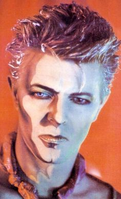 1984 - David Bowie as Screaming Lord Byron from Blue Jean video 80s.