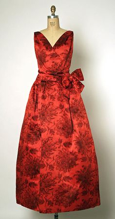 Dress, Evening - Christian Dior 1957