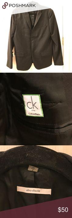 Men's Calvin Klein One Blazer Ultra slim fit! Calvin Klein Collection Suits & Blazers Sport Coats & Blazers