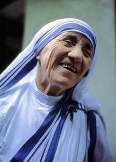 Mutter Teresa von Kalkutta 5 de septiembre de 1997 #biblioteques_UVEG
