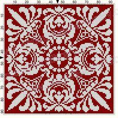 Crochet Cross, Crochet Chart, Crochet Motif, Cross Stitching, Cross Stitch Embroidery, Embroidery Patterns, Inkle Weaving, Bead Weaving, Cross Stitch Designs