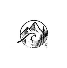 Surf – – The Effective Pictures We Offer You About minimalist fashion A quality pict - Surf Tattoo, Ocean Tattoos, Tribal Tattoos, Gray Tattoo, Polynesian Tattoos, Mini Tattoos, Small Tattoos, Cool Tattoos, Turtle Tattoos