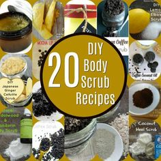 I'm really getting into making DIY beauty products and routinely make soap. If you are like me, I love making my own body scrubs . Body Scrub Recipe, Diy Body Scrub, Diy Scrub, Sugar Scrub For Face, Sugar Scrubs, Coconut Oil Scrub, Cellulite Scrub, Skin Care Routine For 20s, Clear Skin Tips