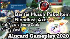 Prank Alucard Pake Build Item Bloodlust Axe!! Ini Hasilnya Auto Bantai -... Alucard Mobile Legends, Best Build, Pranks, Axe, Geek Stuff, Building, Youtube, Geek Things, Buildings