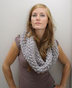 Cowl by Jane Richmond on http://jolietricot.com/top-10-quick-projects-to-be-completed-on-a-day/