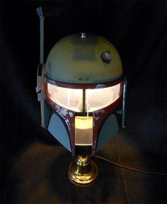 'Do It Yourself' Boba Fett Helmet Lamp
