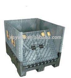 plastic folding storage crate