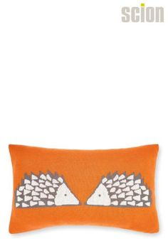 Orange Scion Cedar Spike Cushion