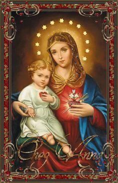 Marie et l'enfant Jésus...........................................LB XXX