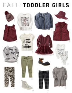 Fall Capsule Wardrobes for Toddlers Old Navy Capsule Wardrobe!Old Navy Capsule Wardrobe! Toddler Girl Fall, Toddler Girl Style, Toddler Girl Outfits, Toddler Fashion, Baby Outfits, Kids Outfits, Kids Fashion, Baby Style, Back To School Outfits For Kids