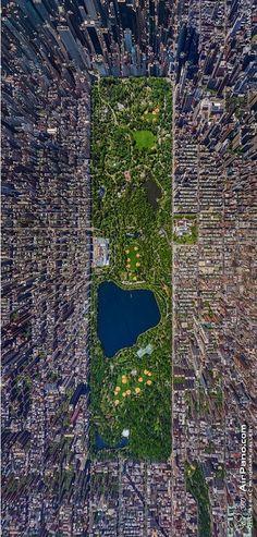 Manhattan from above.