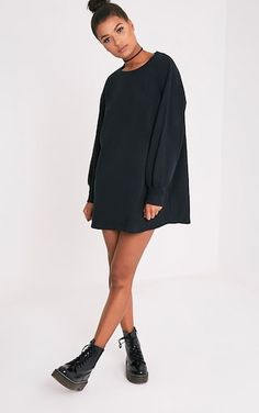 Sianna Taupe Oversized Sweater Dress Sianna Black Oversized Sweater Dress Image 5 Source by The post Sianna Taupe Oversized Sweater Dress appeared first on How To Be Trendy. Selfies, Sweater Outfits, Cute Outfits, Oversized Long Sleeve Shirt, Dress Images, Black Sweaters, Elegant Dresses, Normcore, Fashion Outfits
