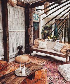 Boho Style für Indoor & Outdoor | repinned by @hosenschnecke♡