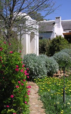 The Temenos garden is situated in the heart of McGregor Stuff To Do, Things To Do, In The Heart, Places To See, South Africa, Sidewalk, Garden, Plants, Travel