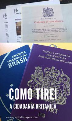 Como tirei a residência definitiva ILR e a cidadania britânica! #reinounido #cidadania