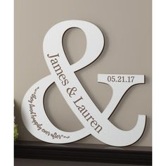 Personalized Planet Antique White Happy Couple Personalized Wood... (202.035 IDR) ❤ liked on Polyvore featuring home, home decor, birch wall art, 2 piece wall art, quote wall art, personalized home decor and quote plaques