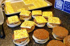 My Kitchen Escapades: Freezer Breakfast Sandwiches