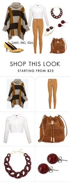 """""""look del dia"""" by aliciagorostiza on Polyvore featuring moda, Zara, Parisian, Vince Camuto, DIANA BROUSSARD, Lalique y Cara"""