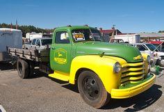 vintage older Chevrolet truck