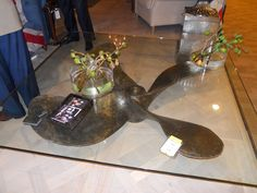 Boat propeller into coffee table