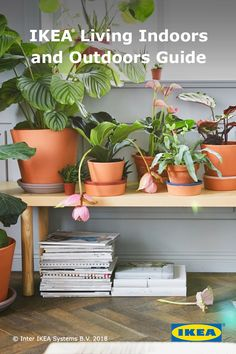Add more life to your living space for less with the IKEA Living Indoors and Outdoors Guide.
