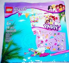 LEGO ~ 5002928 ~ FRIENDS ~ PARTY POLYBAG ~ NISB ~ FREE SHIPPING    eBay Lego Friends Birthday, Lego Friends Party, Friendship Flowers, Hot Dog Cart, Lego Super Heroes, Lego Sets, Free Shipping, Ebay, Lego Games