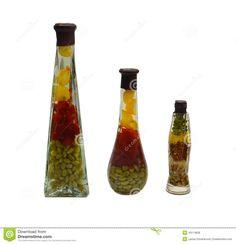 Pretty Decorative Bottles Decorative Bottle Royalty Free