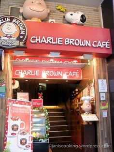 Charlie Brown Cafe! GF-1F Kok Pah Mansion, 58-60 Cameron Road, Tsim Sha Tsui, Kowloon, Hong Kong (near Chatham Road)