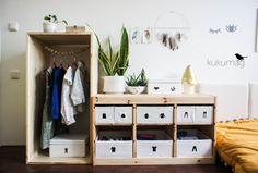 Habitación para 4 años en el estilo Montessori
