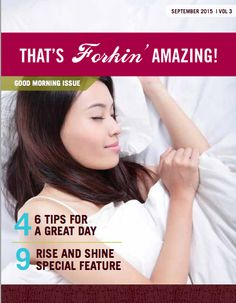 The Good Morning Issue of That's Forkin' Amazing! September 2015