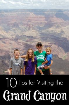 Tips for visiting the Grand Canyon