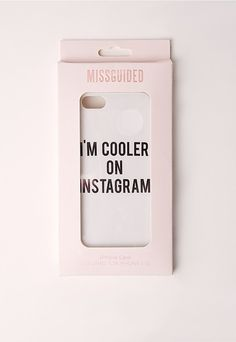 Missguided Instagram iPhone 6 Case ($14)