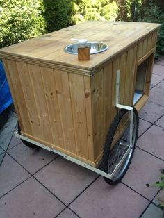 Catering bike trailer/street Food Cart / Coffee/market stall | Business, Office & Industrial, Restaurant & Catering, Catering Trailers | eBay!