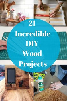 21 Ways A Little Wood Can Make A Big Impact- Wood is a great way to decorate your home. Give your home a whole new feel with wood. #wood #diy #diyhomedecor #diywood