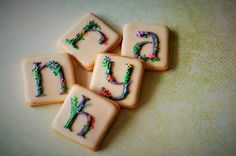 alphabet cookies | Cookie Connection