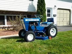 Lawn Tractors, Lawn Mower Tractor, Ford Tractors, Wheel Horse Tractor, Lawn And Garden, Outdoor Power Equipment, Mini, Vintage, Tractors